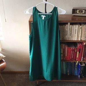 Leith racerback green dress